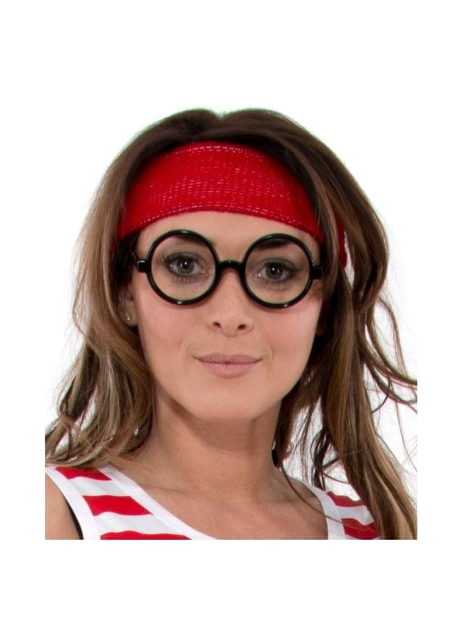 Fancy Dress Red Headband