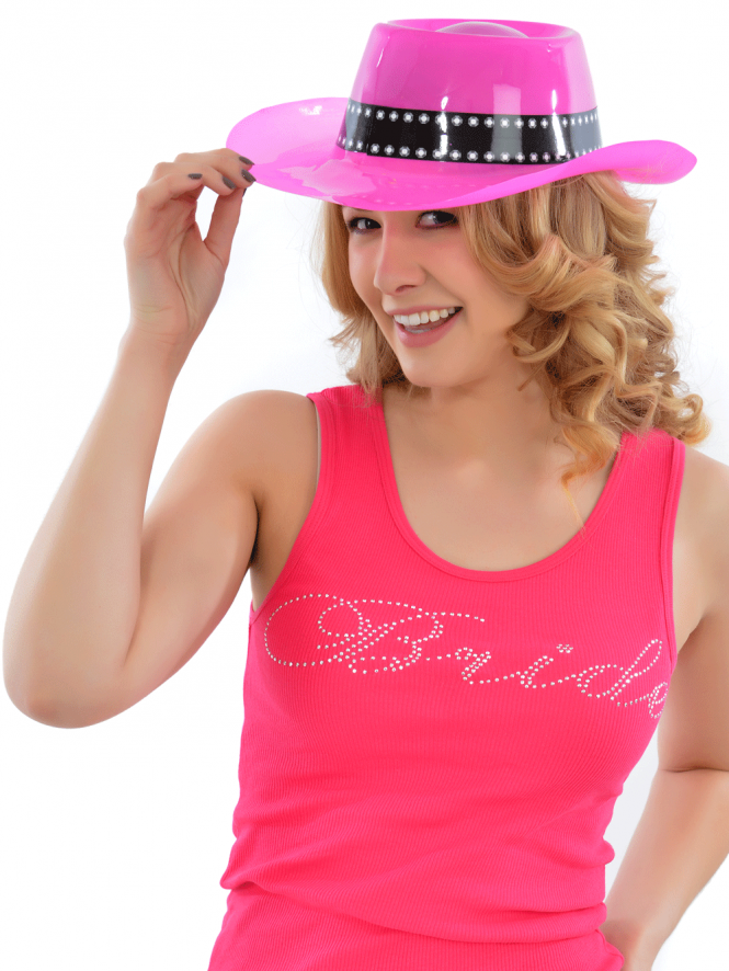Hen Party Pink Cowgirl Hat Value Range