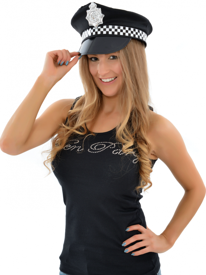Police Fancy Dress Panda Cap ,HAT