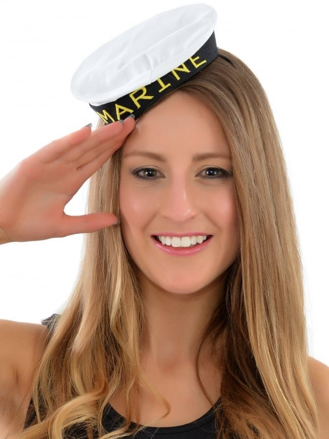 Mini Marine Girl Fancy Dress Hat