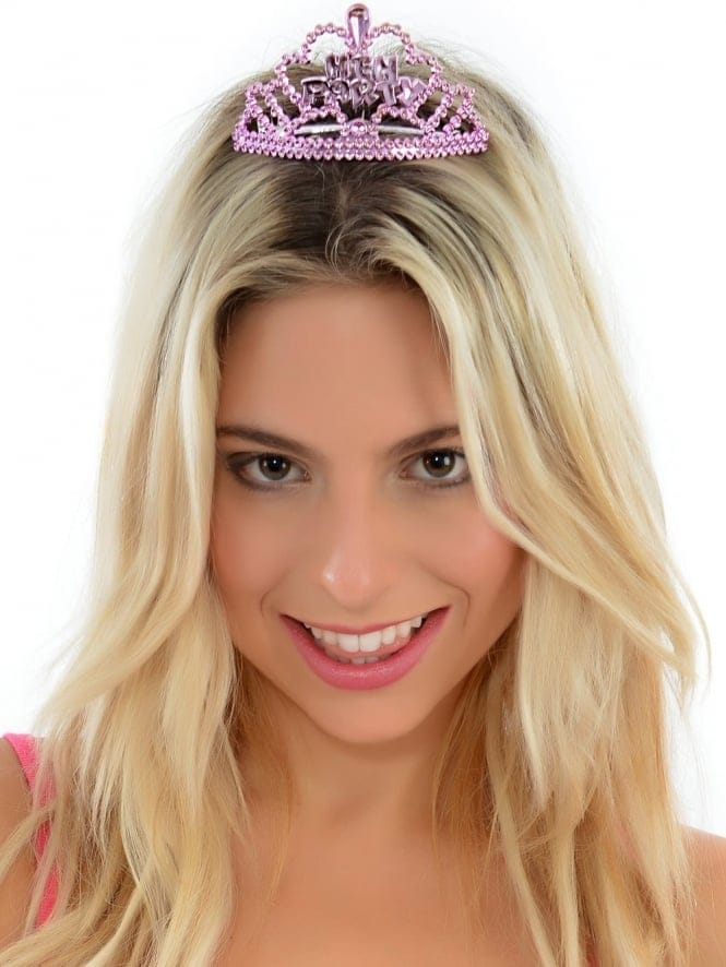 Mini Pink Hen Party Tiara's (6 in a Pack)