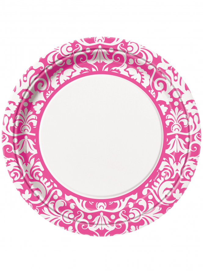 Hen Party Tableware Hen Night Plates White & Pattern