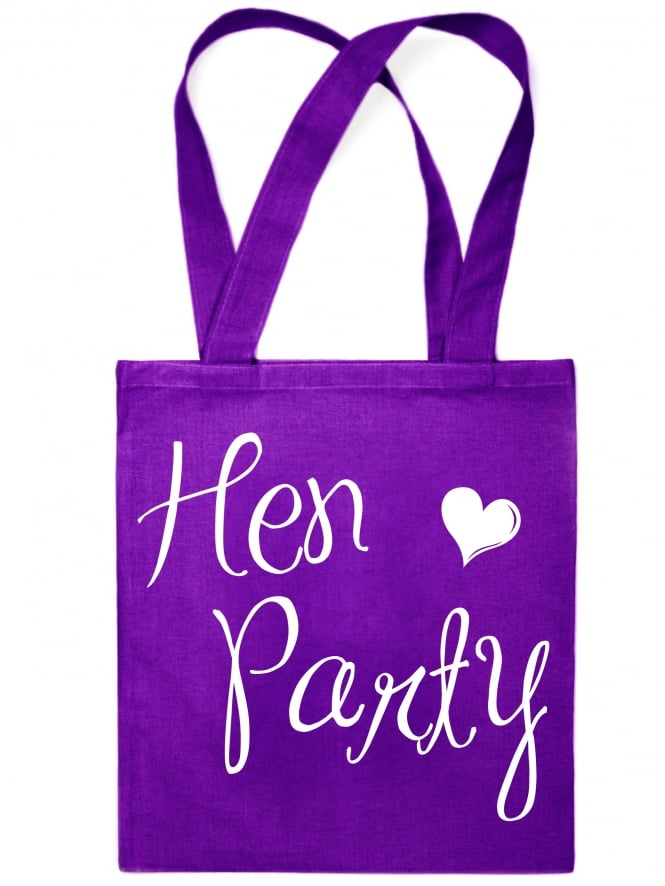 Elegant Range Hen Night Party Tote Bags
