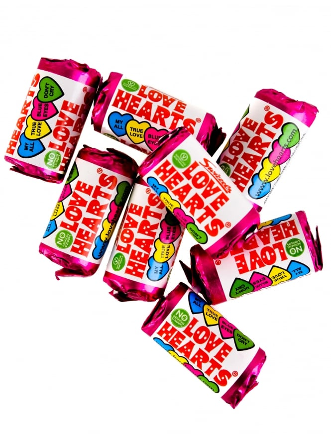 Party Bag Filler X1 Mini Love Heart Sweets/ Love Hearts