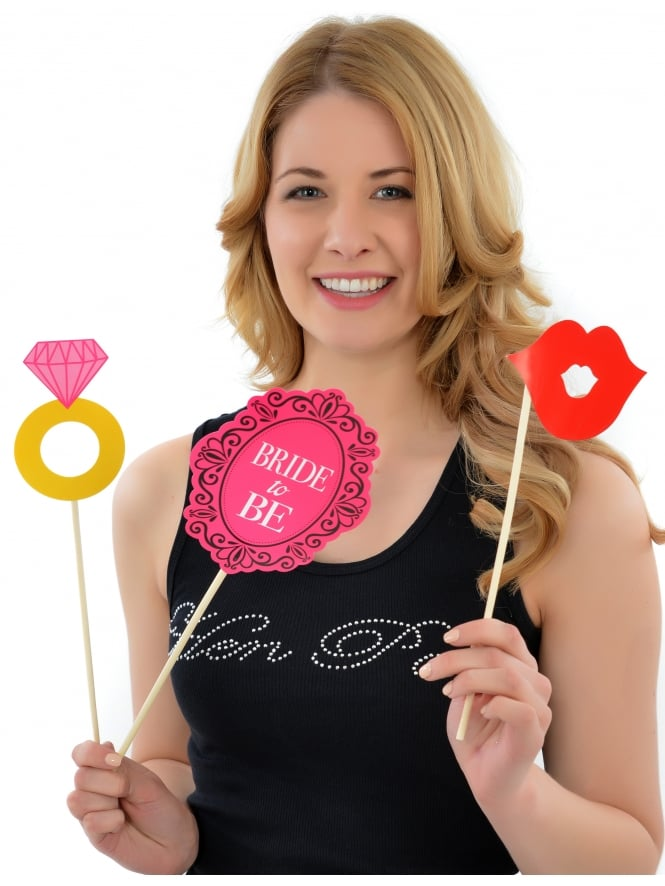 Hen Party Photo Props Fun Photo Signs