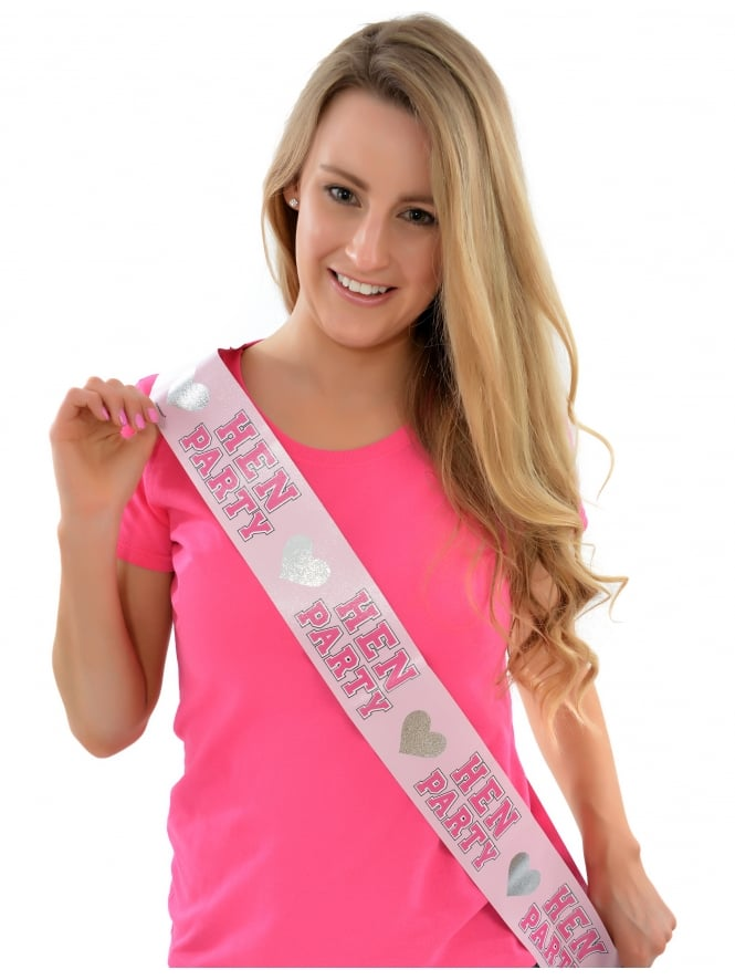 Hen Party Bridal Sashes Pack of 8