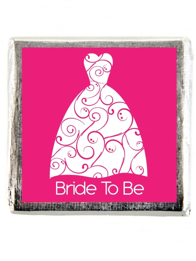 X10 Bride To Be Dress Chocolate Favour Gift