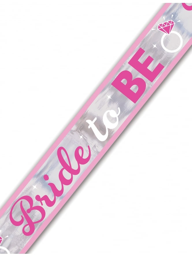 Bride To Be Foil Banner 7.6m