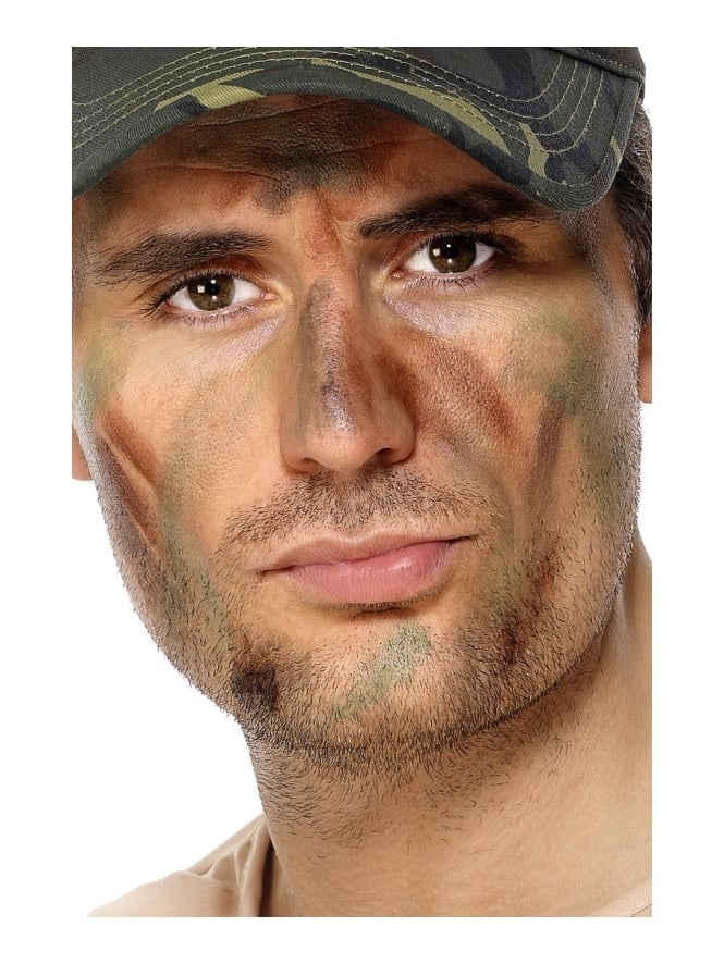 Army Camouflage Makeup Set