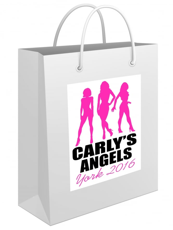Sammy's Angels Personalised Hen Party Gift Bag