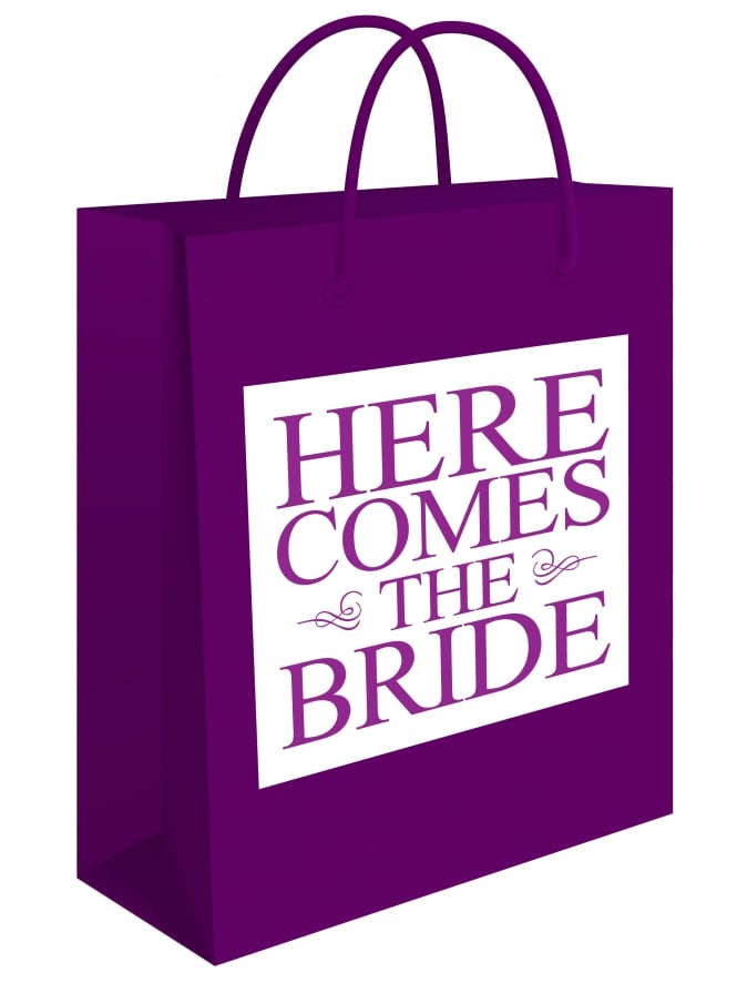 Here Comes The Bride Hen Party Gift Bag