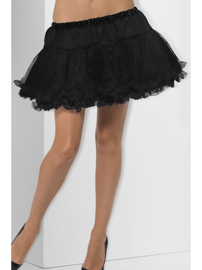 Petticoat Black with Satin Band