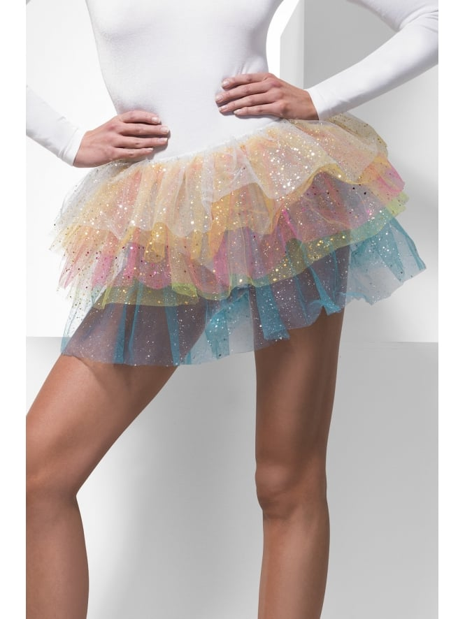 Sparkle Rainbow Tutu with Sequins