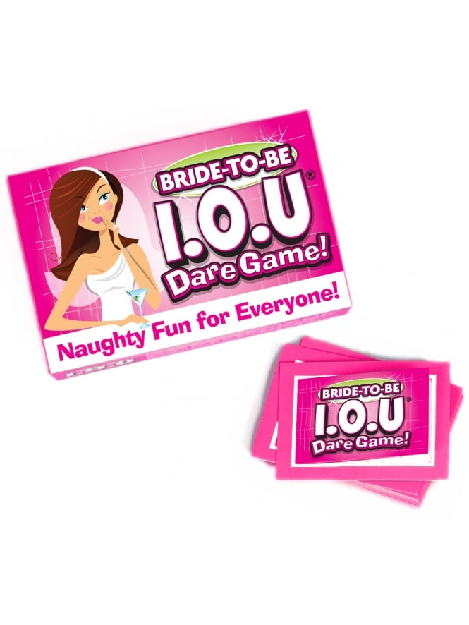 Bride To Be I-O-U Dare Game!