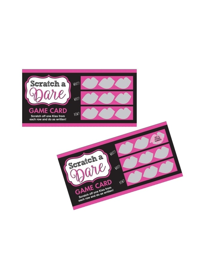 Scratch A Dare Card Hen Party Game
