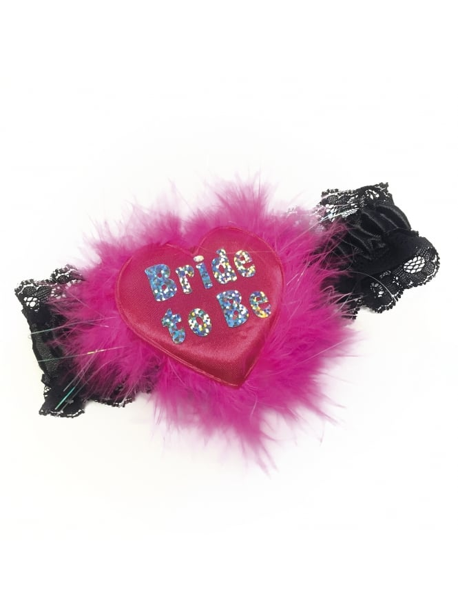 Bride To Be Garter Assorted Colours