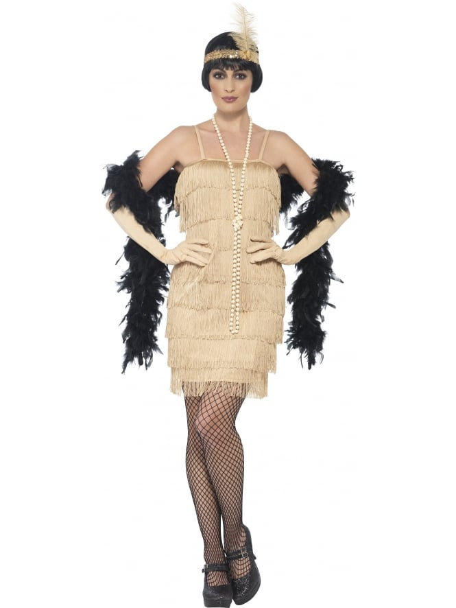 1920's Gold Flapper Costume