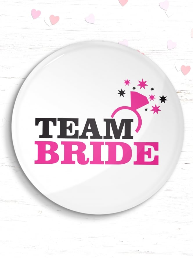 Team Bride Hen Party Badge