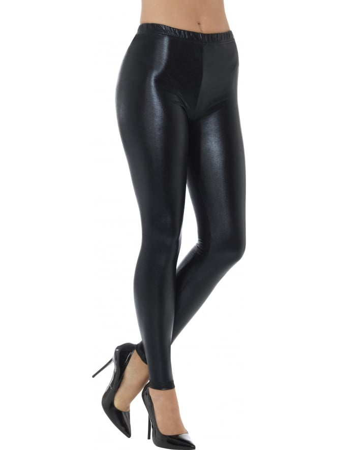 Disco Pants Metallic Leggings