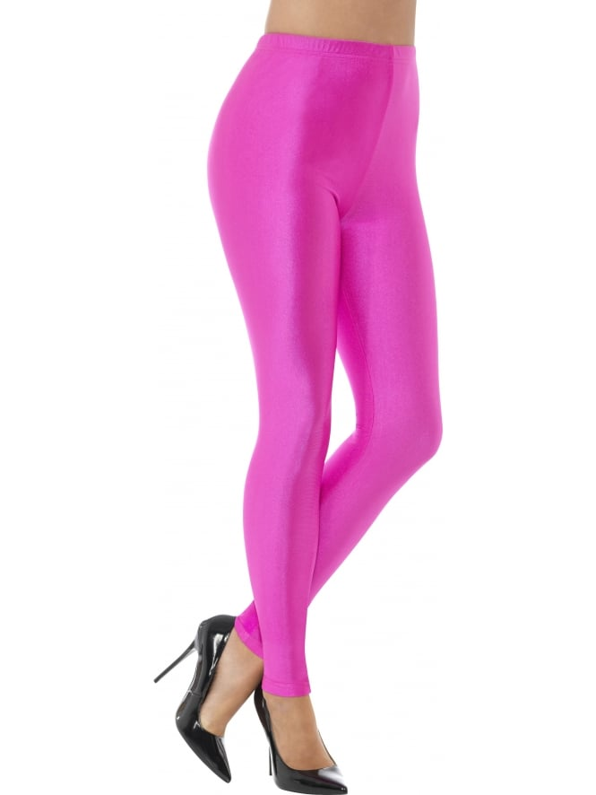 Neon Spandex Disco Leggings