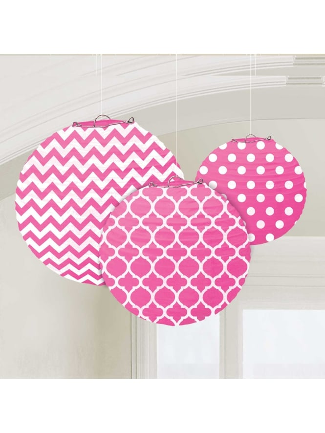Paper Lanters Decoration (Pack of 3)