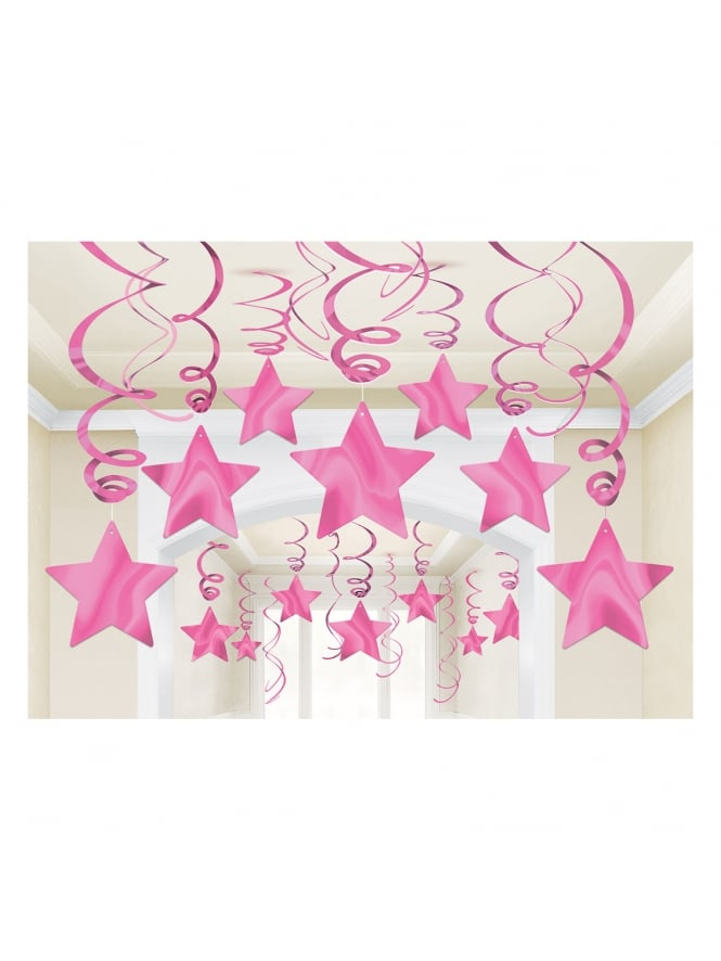 Swirl Hanging Hen Party Decorations (x30 Pack)