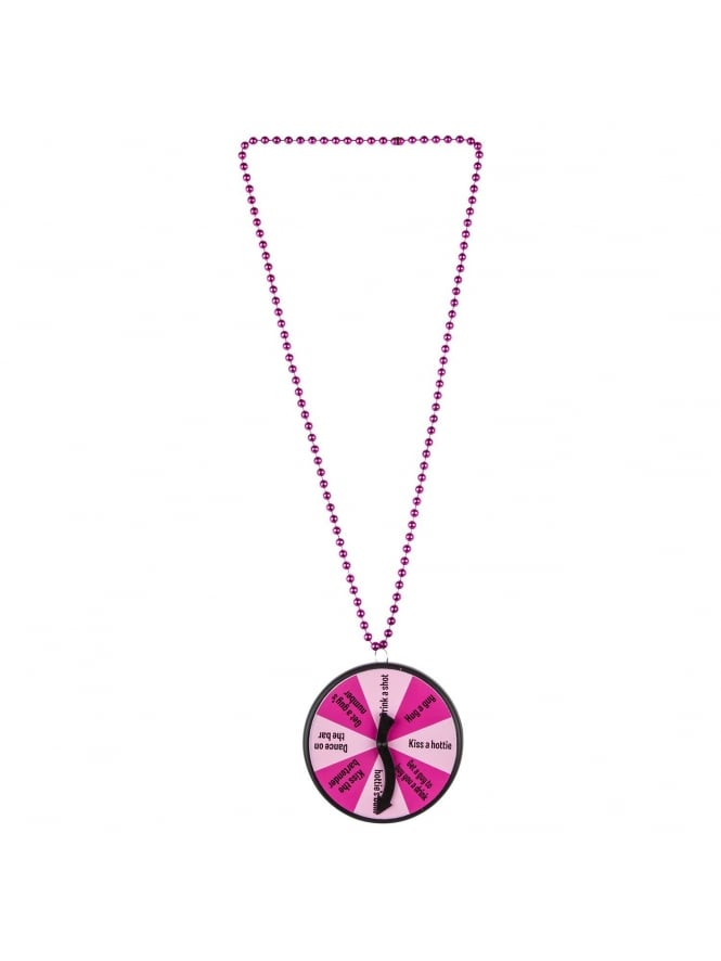 Dare Spinner Necklace Hen Party Game