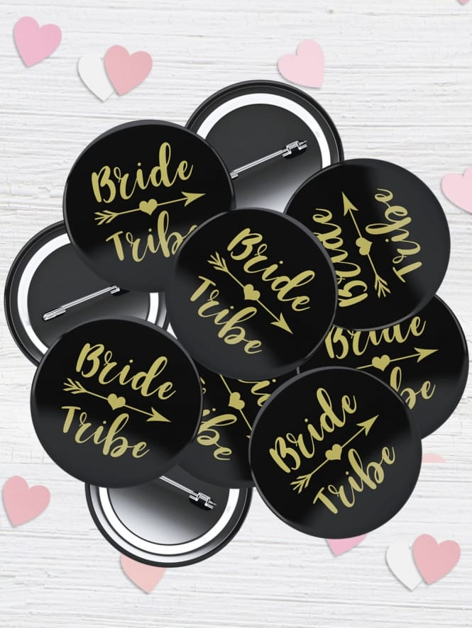 Hen Party Superstore Bride Tribe Badge