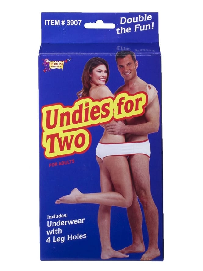 Undies for Two Novelty Gift