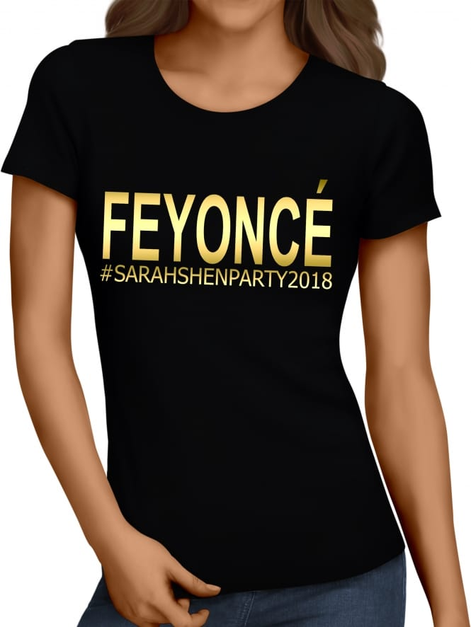 Hen Party Superstore Feyonce Hen Party T-Shirt