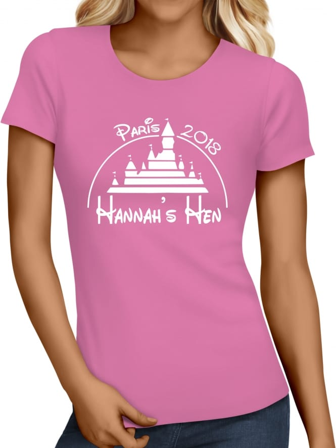 Hen Party Superstore Magical Princess Personalised Hen Party T-Shirts