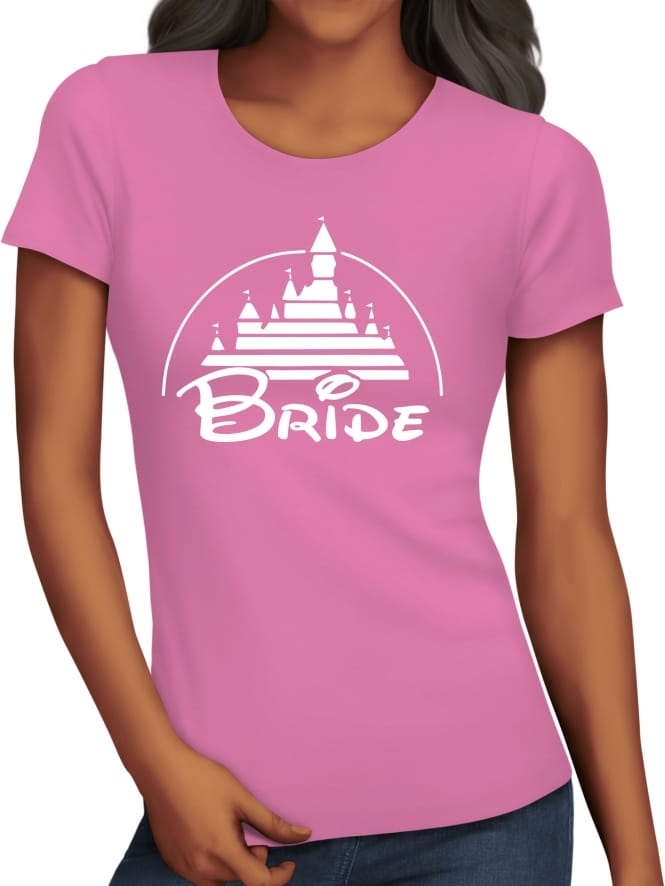Hen Party Superstore Magical Princess 'Bride' Hen Party T-Shirts