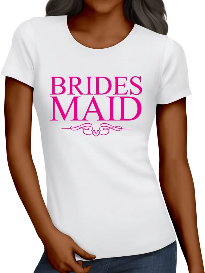 Hen Party Superstore Classic Bridesmaid Hen Party T-Shirts