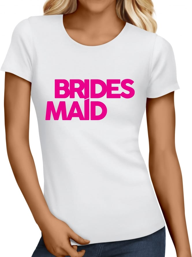 Hen Party Superstore Distinctive Bridesmaid Hen Party T-Shirts