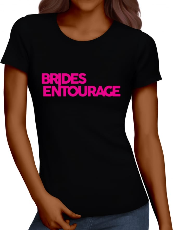 Hen Party Superstore Distinctive Brides Entourage Hen Night T-Shirts