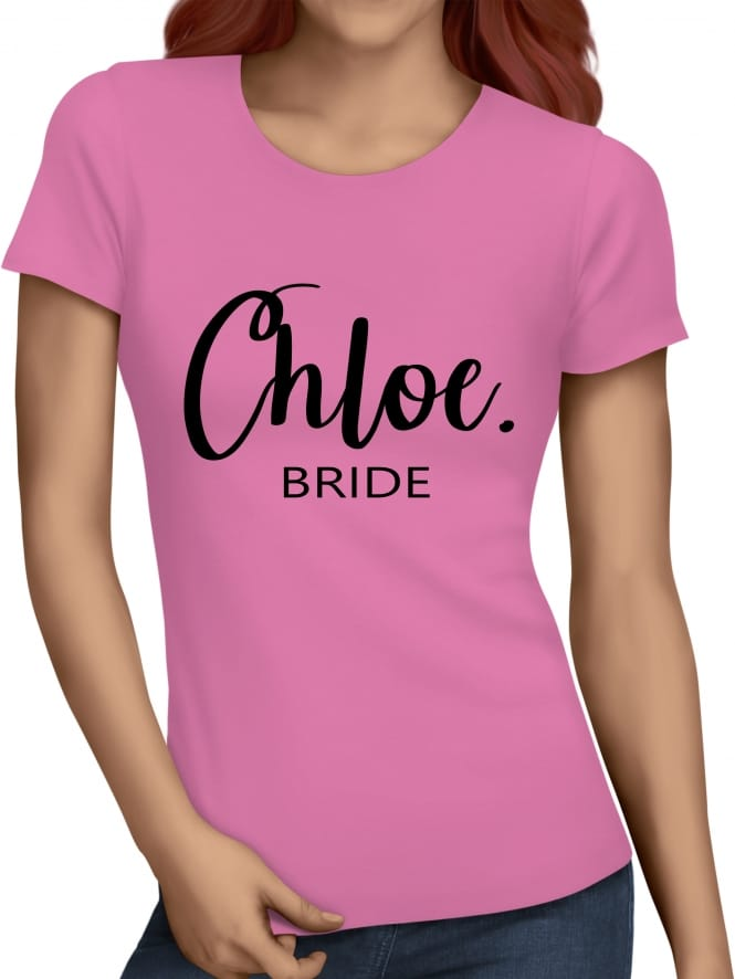 Hen Party Superstore Chic Bride Hen Party T-Shirts