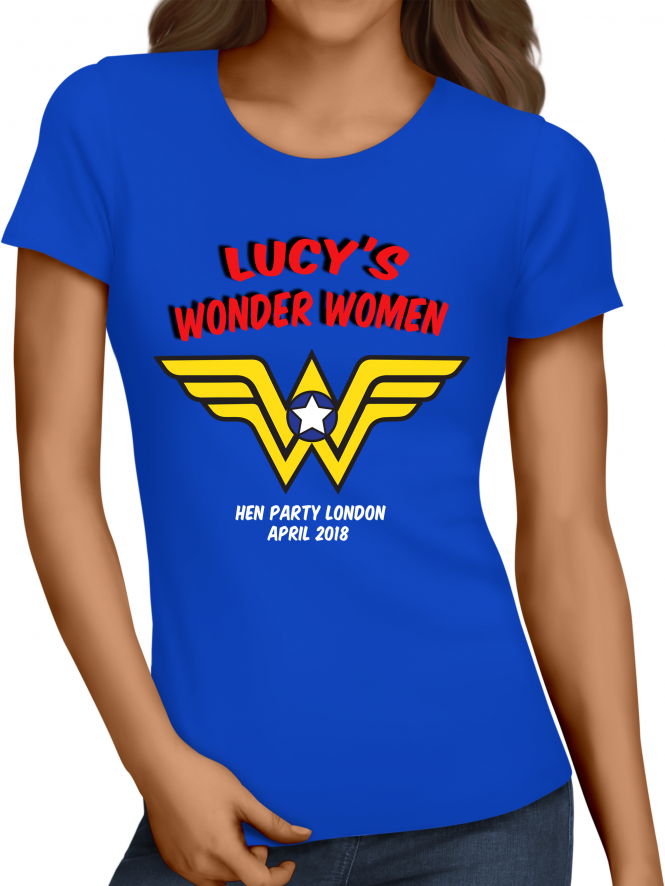 Hen Party Superstore Wonder Hen Party T-Shirts