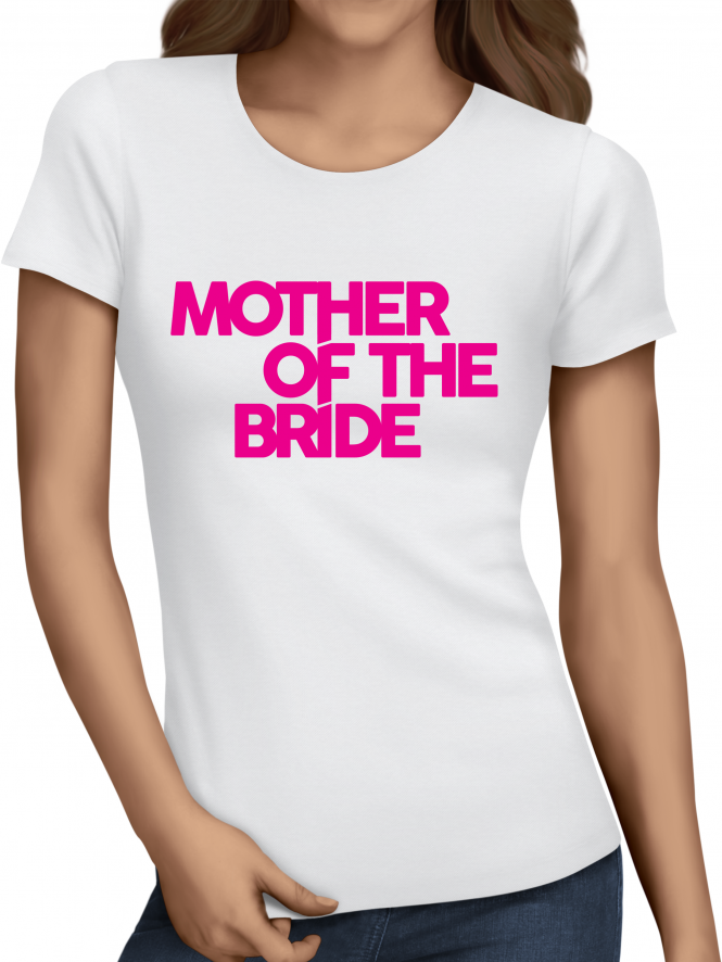 Distinctive Mother Of The Bride Hen Party T-Shirts