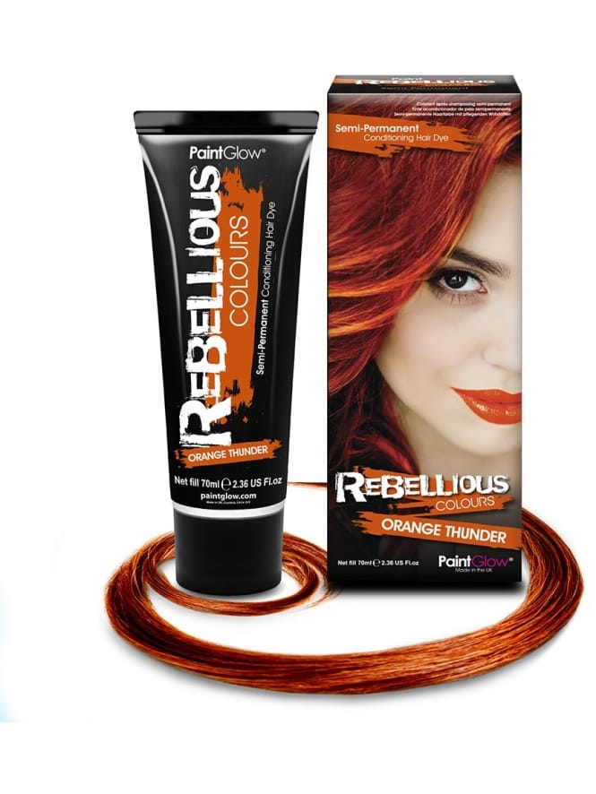 Semi-Permanent Hair Dye 70ml Orange