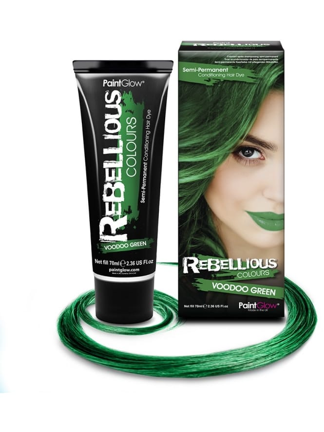 Semi-Permanent Hair Dye 70ml Green
