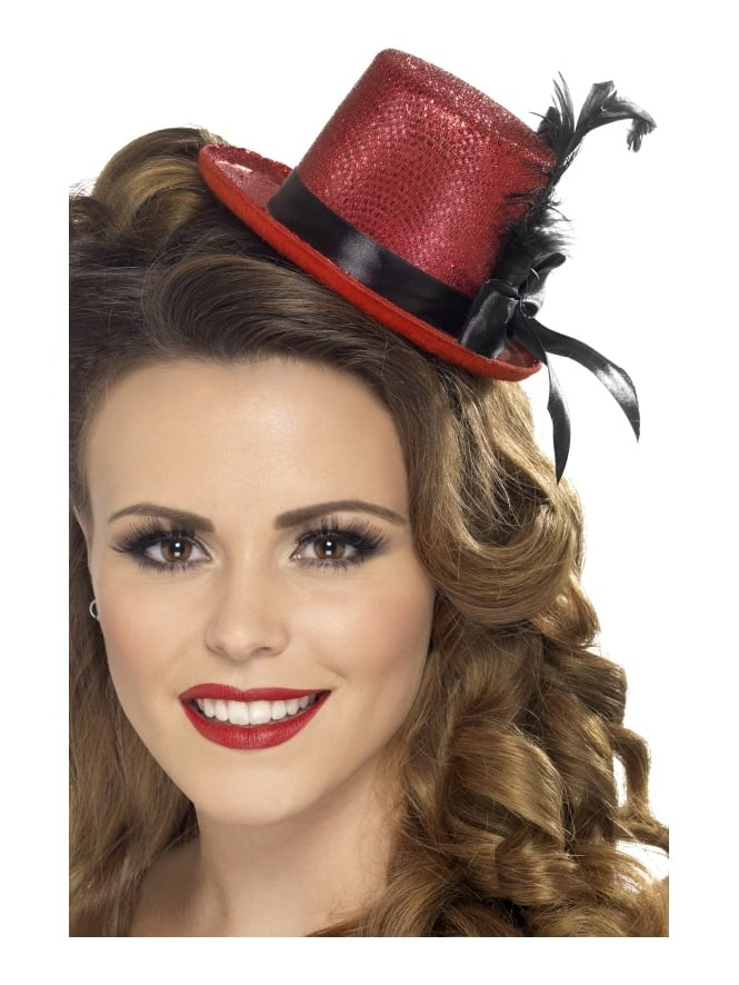 Hen Night Party Mini Top Hat Red