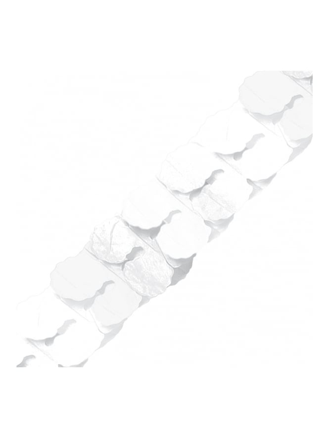 3.65m Frosty White Paper Garland