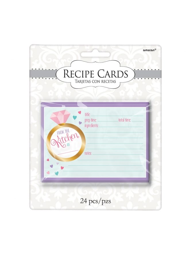 Recipe Hen Party Cards