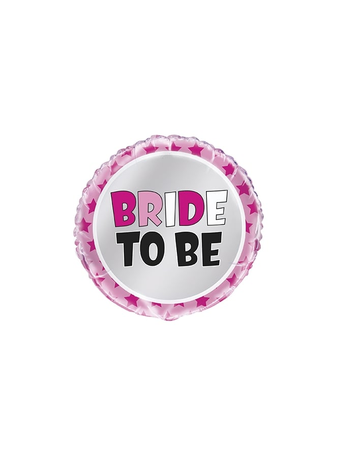 """Bride to Be"" Foil Helium Balloon"