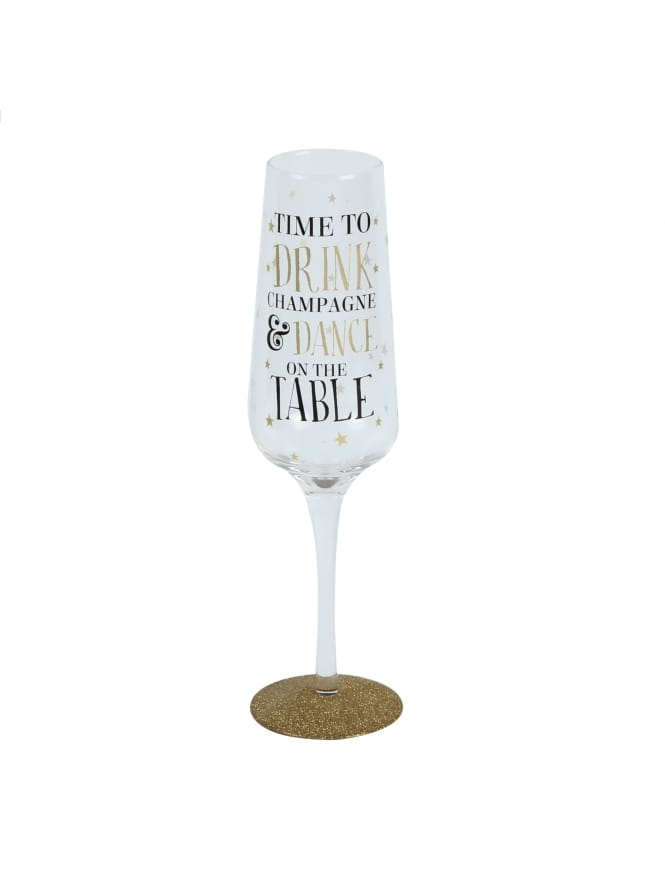 Signography Sparkling Flute Glass
