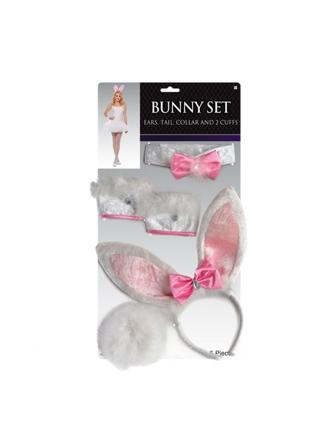 Adults Bunny Set Costume Accessories