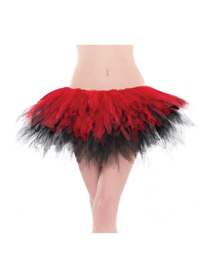 Red and Black Handkerchief Tutu
