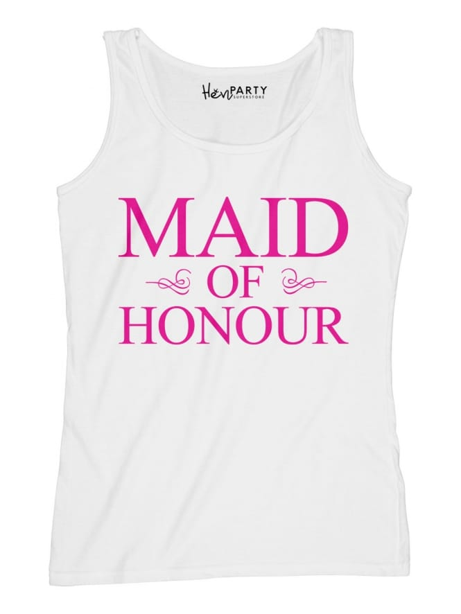 Hen Party Superstore Classic Maid Of Honour Hen Party T-Shirts