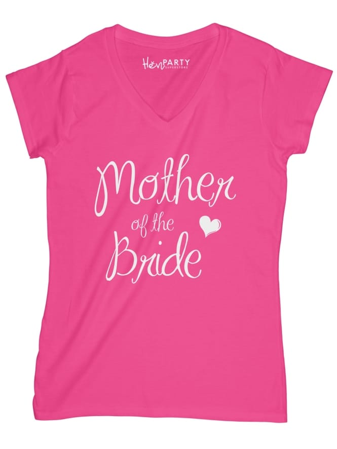 Hen Party Superstore Elegant Mother Of The Bride Hen Night T-Shirts