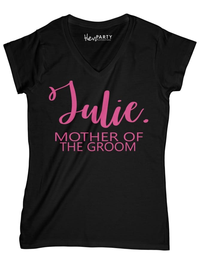 Hen Party Superstore Chic Mother Of The Groom T-Shirts